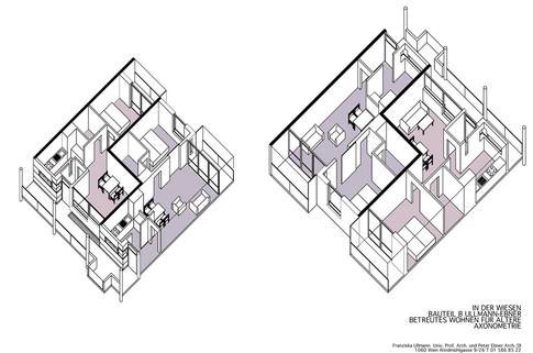 Proyecto de viviendas intergeneracional In der Wiesen, Viena