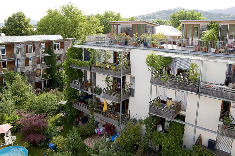 Rehabilitación ecológica antiguo cuartel militar-Friburgo, Alemania