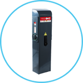 EVBox PublicLine charge station - Catec