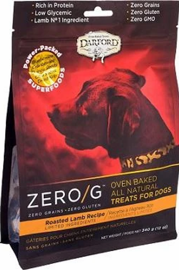 Zero/G Roasted Lamb Recipe Dog Treats