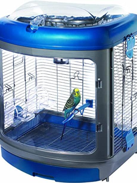 Super Pet Habitat Defined Bird Enrichment Home with Activity Center