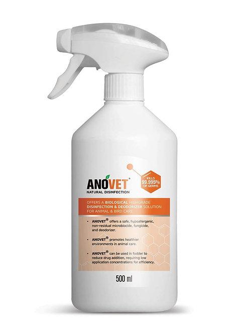 Anovet - Natural Disinfectant Spray 500ml