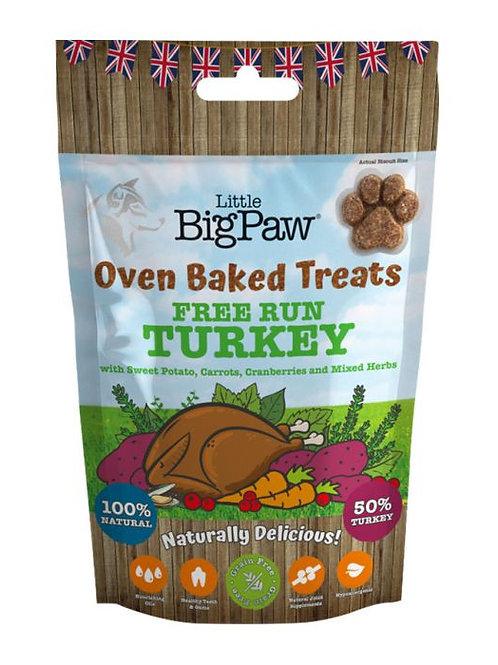 Little Big Paw Free Run Turkey Oven Baked Treat