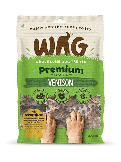 Wag Premium Cuts Venison Dog Treats