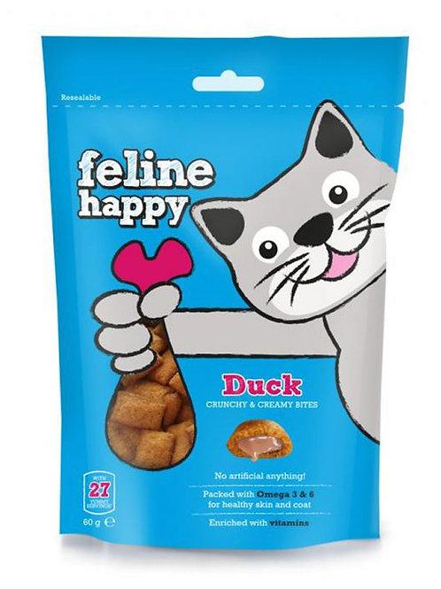 Feline Happy Duck Treats Chicken