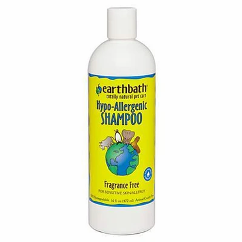 Earthbath Hypo-Allergenic Shampoo 472ml