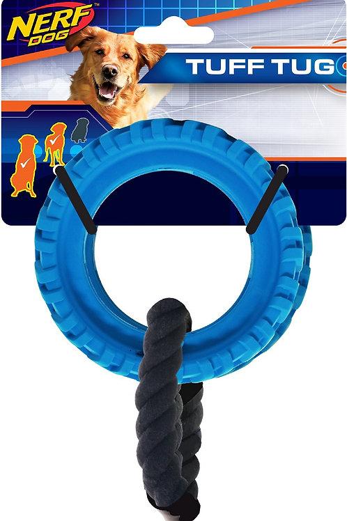 Nerf Dog Tire Wheel Tug