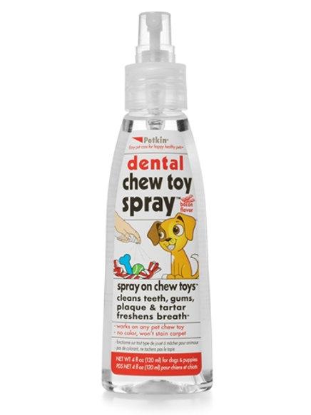 Petkin Dental Chew Toy Spray