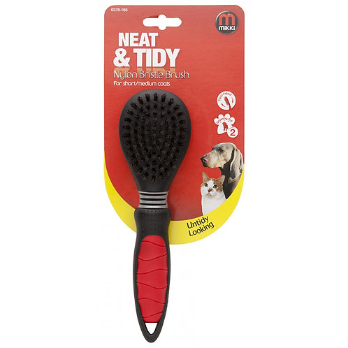 Mikki Neat & Tidy Nylon Bristle