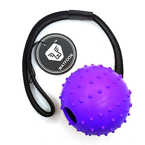Ball on a rope/handle
