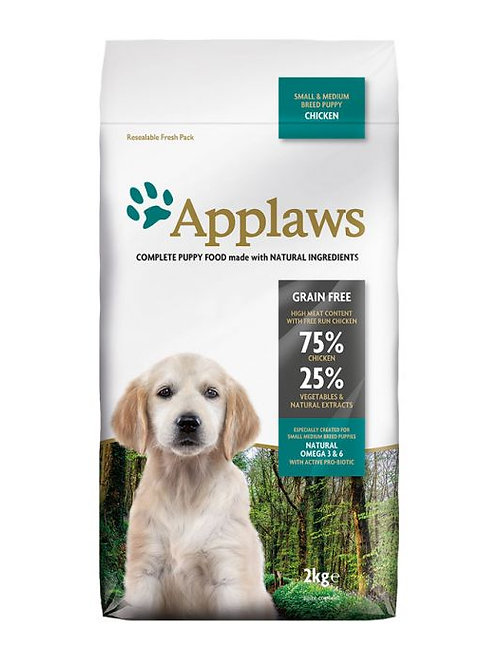 Applaws Puppy Chicken Small & Medium 2kg