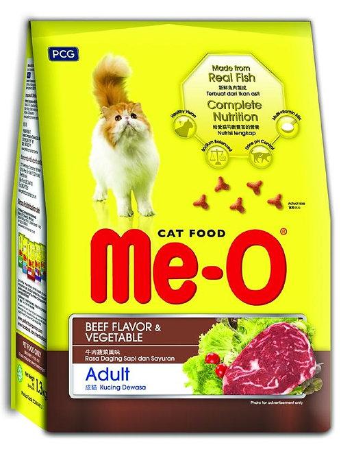 Me-O Cat Food Beef & Vegetable 7kg