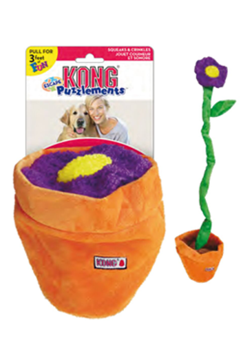 Kong Puzzlements™ Escape Flower Pot
