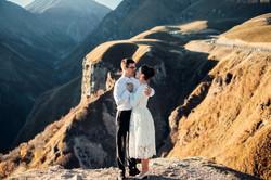 Wedding in Kazbegi