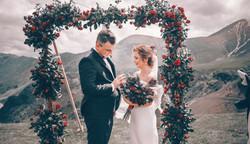 Свадьба в Грузии в горах