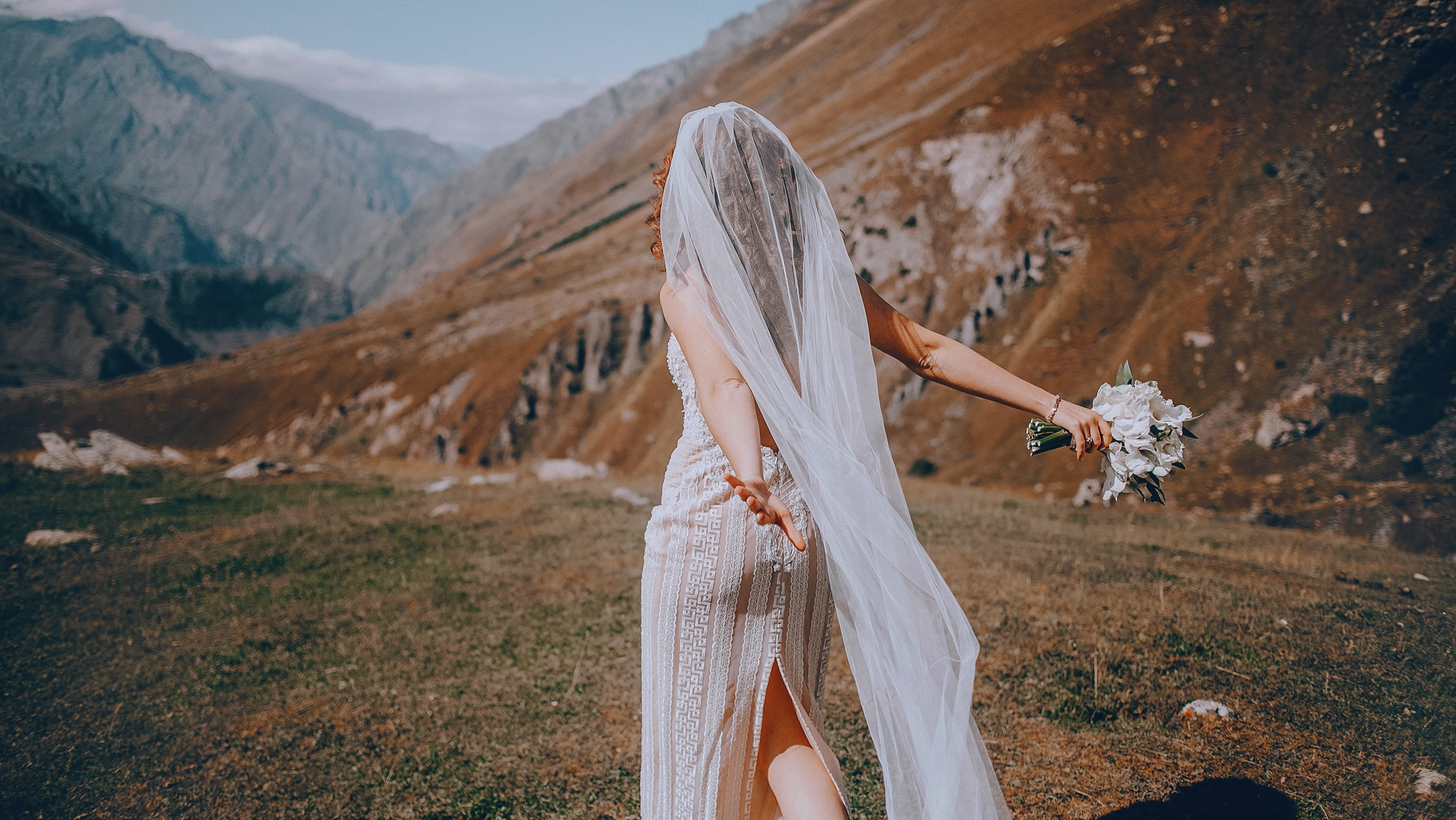 Wedding in Kazbegi