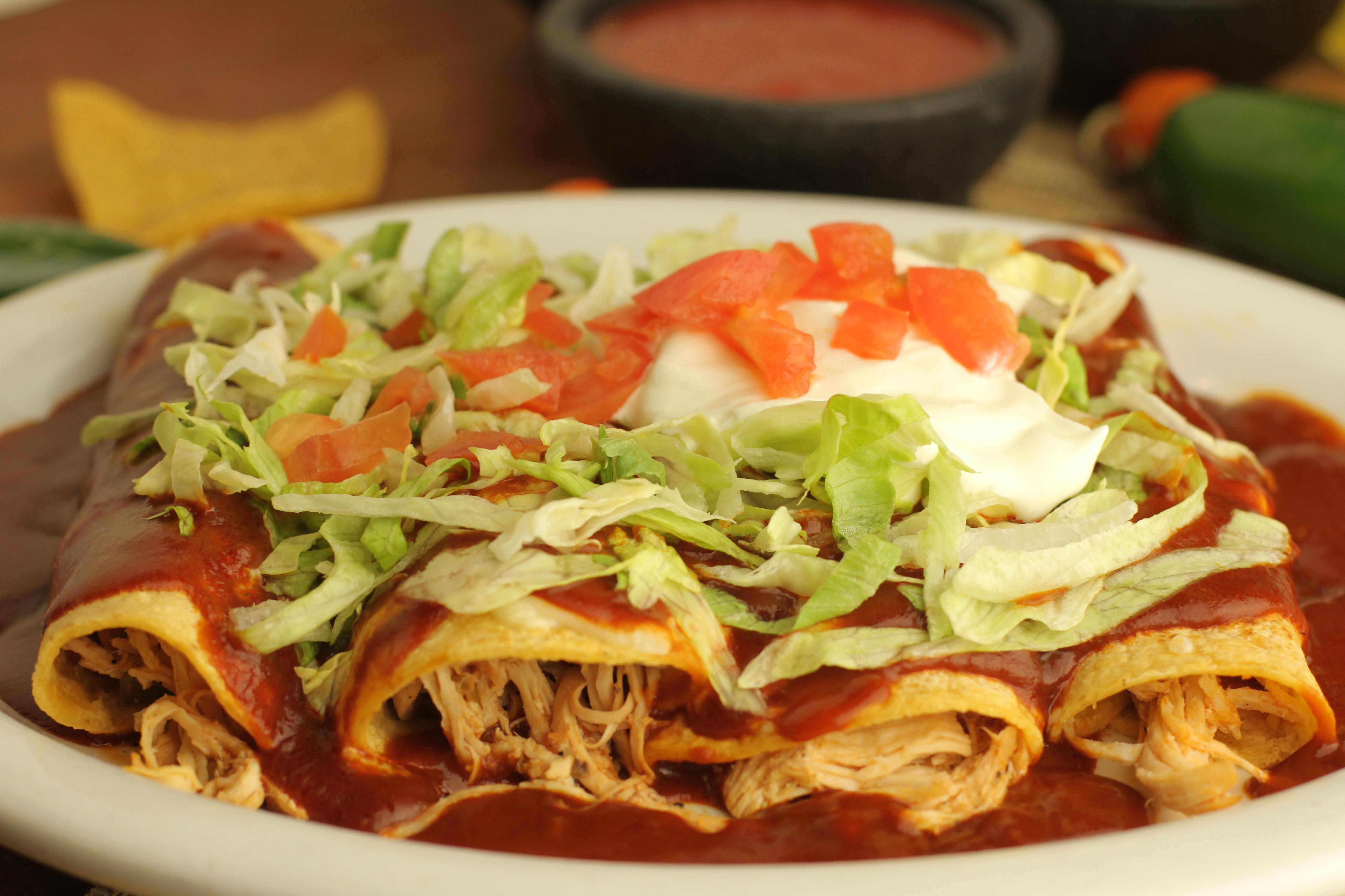 Enchiladas Rancheras