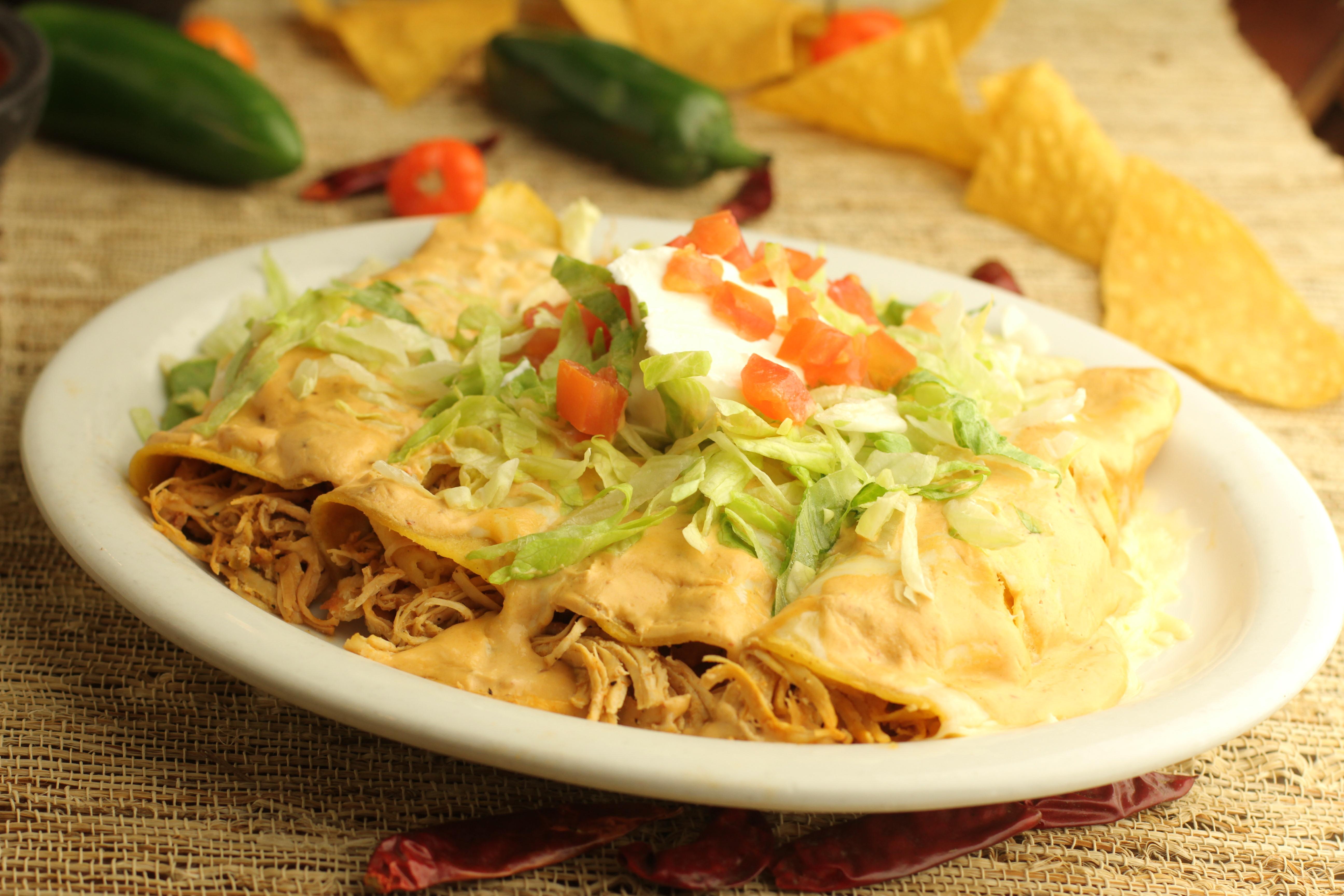 Enchiladas Blancas