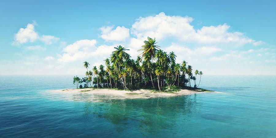 En İyi Adalar Duvar Modelleri | Üç Boyutlu Okyanus Duvar Modelleri