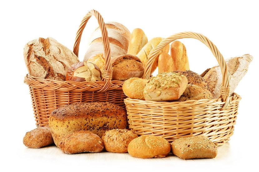 Sütlü Ekmeği Duvar Kağıdı | Kabartmalı Ekmek Sepeti Duvar Kağıdı | Duvar34.com