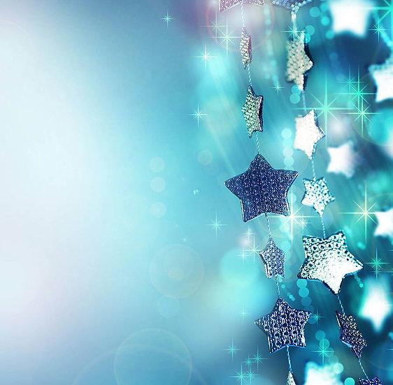 Yıldız Kristalleri Duvar Kağıtları | 3 Boyutlu Yıldız Duvar Kağıtları | Bursa