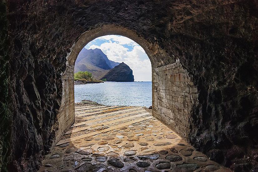 Vadiye Açılan Tünel Duvar Kağıtları | 3 Boyutlu Konya Duvar Kağıtları