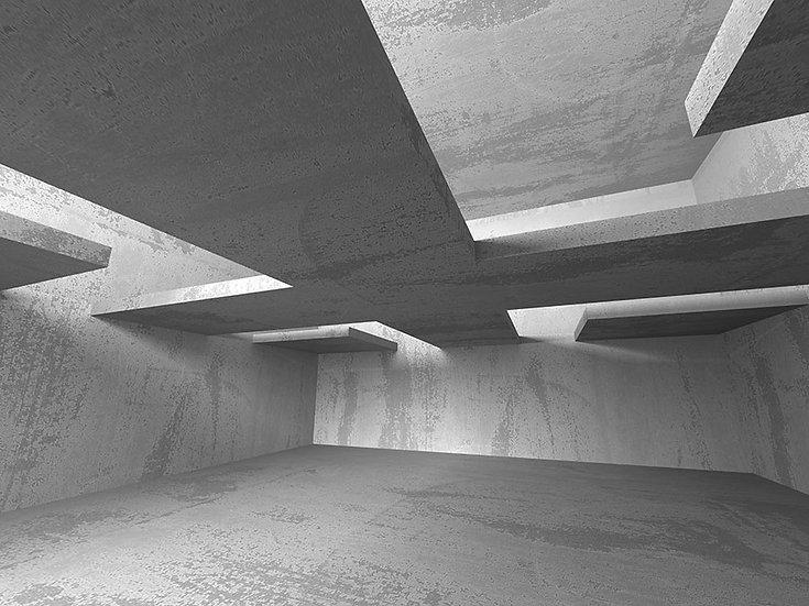 Mimari Tasarım Duvar Kağıtları   3 Boyutlu Beton Duvar Kağıtları   Ankara