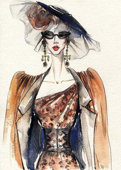 Modaya Özel Tasarım Duvar Kağıtları | Vintage Sanat Duvar Kağıtları