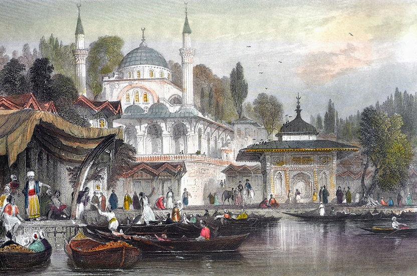 İstanbul Posteri Duvar Kağıtları   3 Boyutlu İstanbul Tablo Duvar Kağıtları
