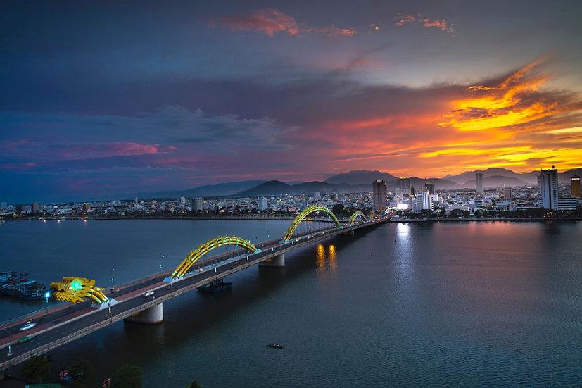 HD Şehir Manzara Duvar Kağıtları | 3 Boyutlu Gece Şehir Yansıma Duvar Modelleri