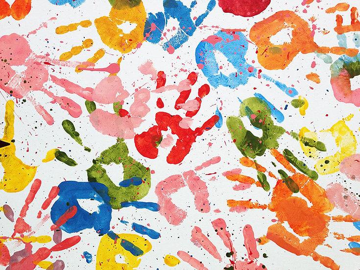 Eşsiz Suluboya Duvar Kağıtları   Üç Boyutlu Suluboya Desenler Duvar Kağıtları