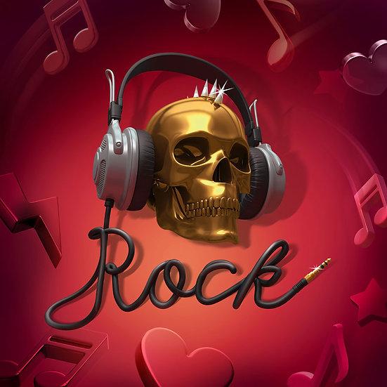 3 Boyutlu Müzik Kursları Duvar Kağıdı   Kuru Kafa Rock Duvar Kağıdı   Adana