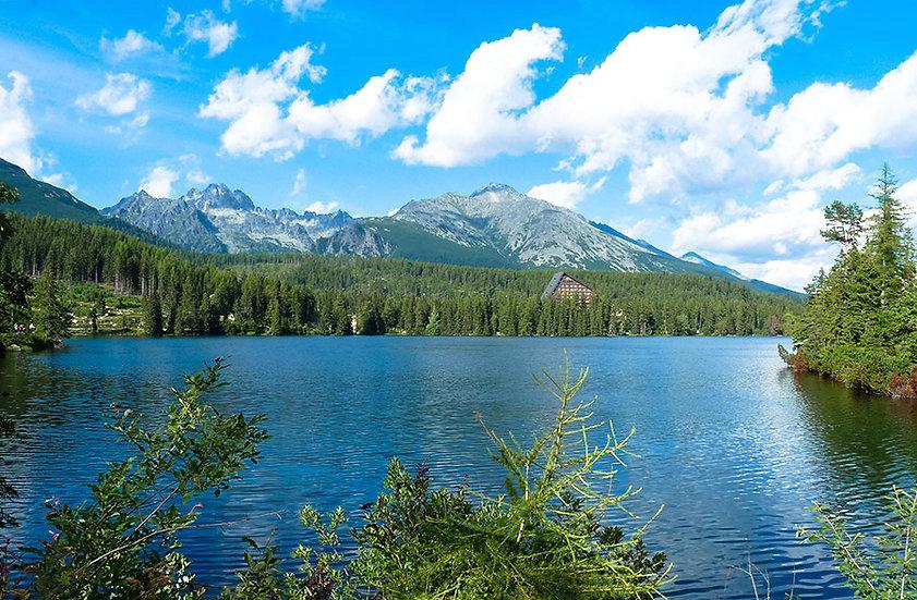Tatras Dağları Manzara Duvar Kağıdı Desenleri | 3 Boyutlu Almanya Duvar Kağıdı