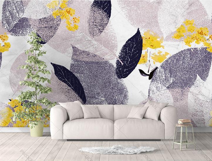 Kabartmalı Püskürtmeli Duvar Kağıdı | Üç Boyutlu Oturma Odası Duvar Kağıtları