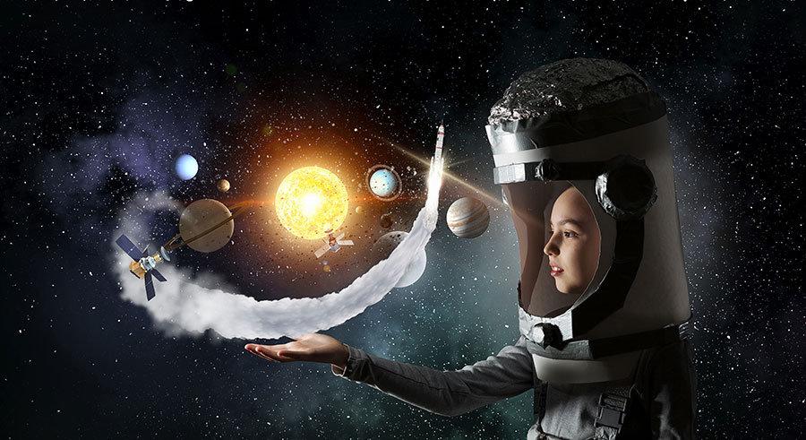 Atmosfer Duvar Kağıdı | Fizik Kuralları 3 Boyutlu Duvar Kağıdı | Duvar34.com