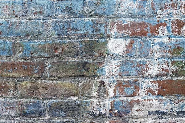 Renkli Tuğla Duvar Kağıdı   3 Boyutlu Ofis Duvar Kağıtları