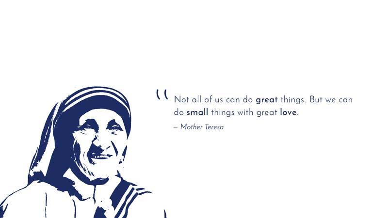 Mother Teresa Duvar Kağıdı   En Kaliteli Ünlü Sözleri Duvar Kağıtları   Ankara
