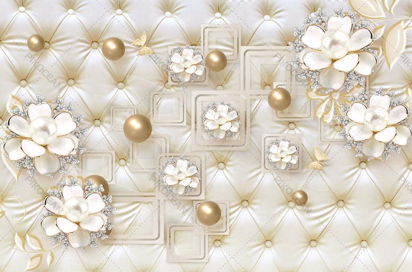 Altın Takı Mücevher Duvar Kağıtları | En Kaliteli Tv Ünitesi Duvar Kağıdı