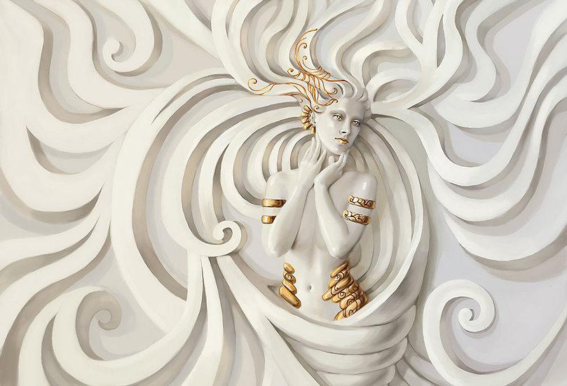 Üç Boyutlu Medusa Duvar Kağıtları | Kabartmalı Tasarım Duvar Kağıdı Çeşitleri