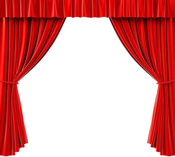 Sahne Perdesi Duvar Kağıtları   3 Boyutlu Tiyatro Perdesi Duvar Kağıdı   Bursa