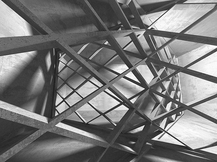 Metal Kiriş Tasarım Duvar Kağıtları | En Ucuz Tasarım Duvar Kağıdı | Bursa