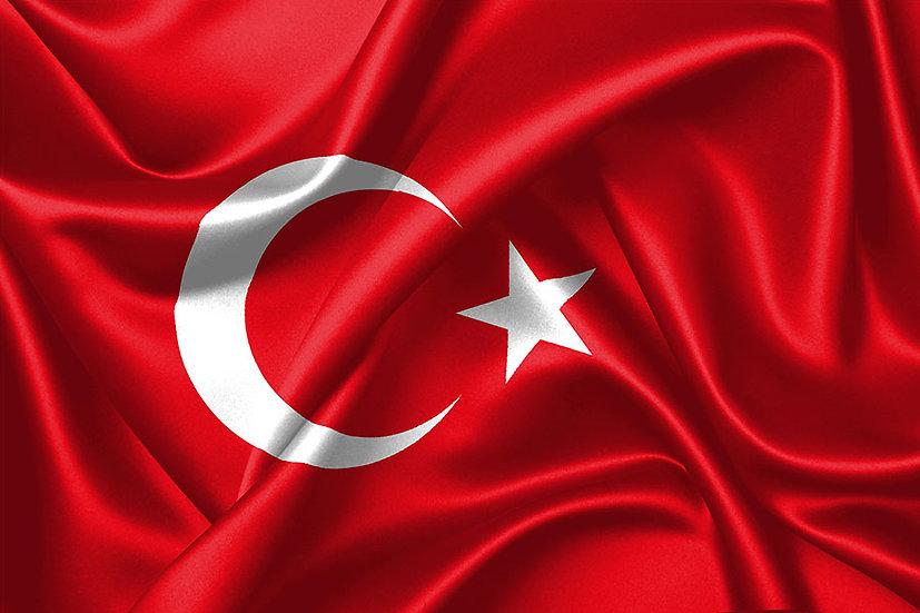 Okul İçi Duvar Kağıdı | Türk Bayrağı 3 Boyutlu Duvar Kağıdı | 3D Duvar Kağıtlar