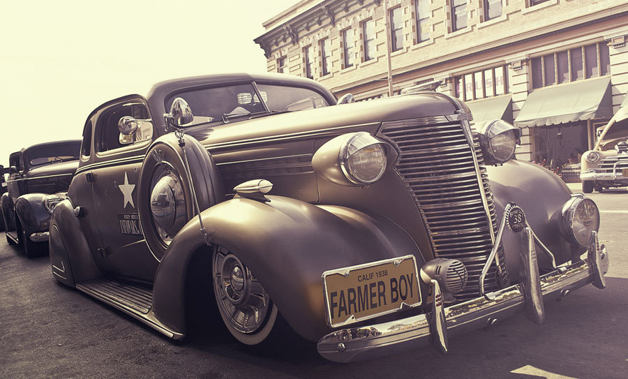 1950 Klasik Ford Duvar Kağıtları | Klasik Arabalar 3D Duvar Kağıdı