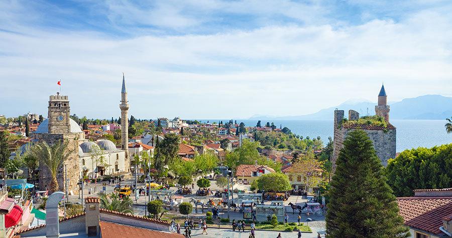 Antalya Tarihi Kale Manzara Duvar Kağıtları | 3 Boyutlu Batman Duvar Kağıtları