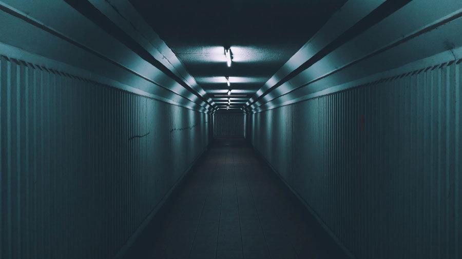 HD Metro Tüneli Duvar Kağıtları | 3 Boyutlu Tünel Duvar Kağıtları