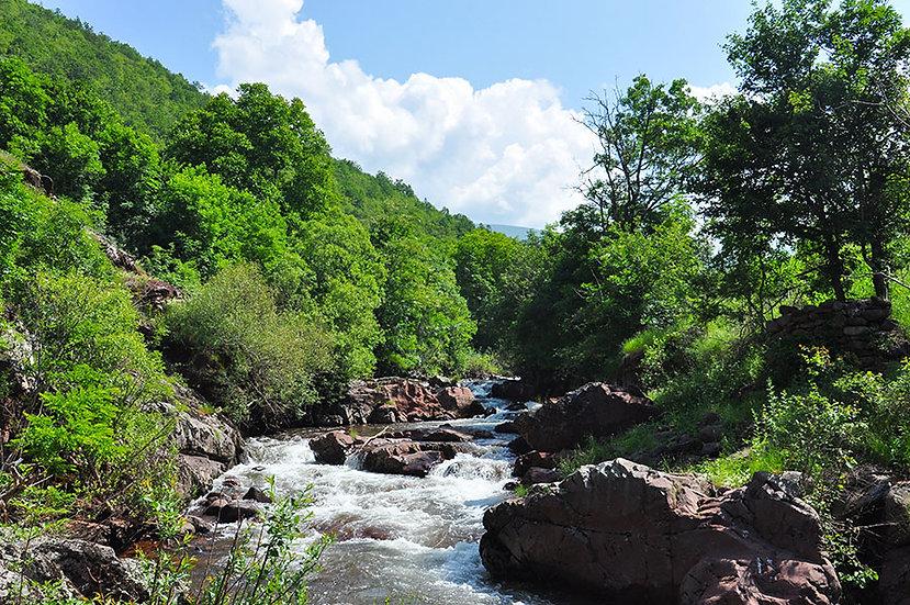 Üç Boyutlu Kayalı Nehir Duvar Kağıtları | En Kaliteli Duvar Kağıtları | Trabzon