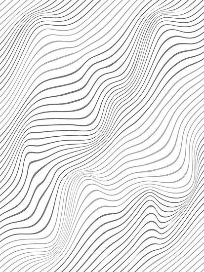 Dalgalı Tasarım Duvar Kağıdı | HD Kabartmalı Tasarım Duvar Kağıdı | Ankara