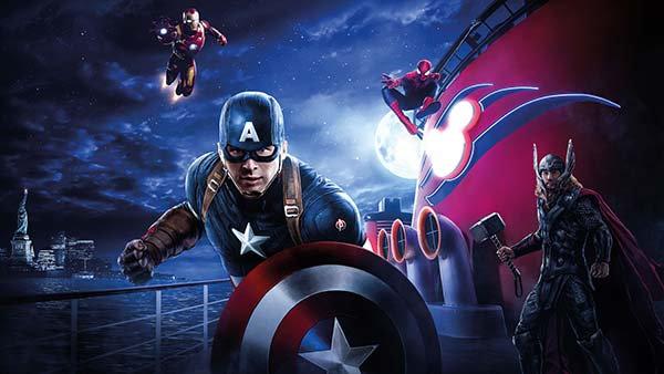 Kaptan Amerika Duvar Kağıdı | 3 Boyutlu Marvel Studios Duvar Kağıdı