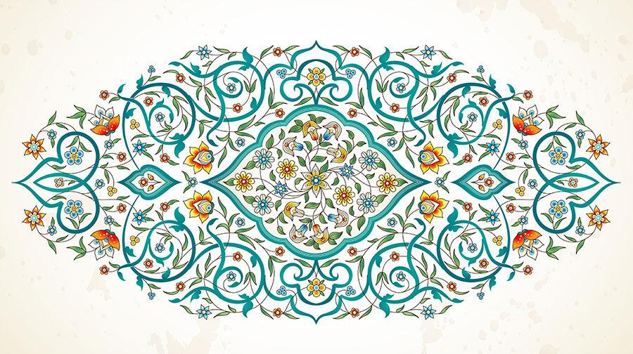 İslami Desenler Duvar Kağıtları   Dini Resimli Duvar Kağıdı   Duvar34.com
