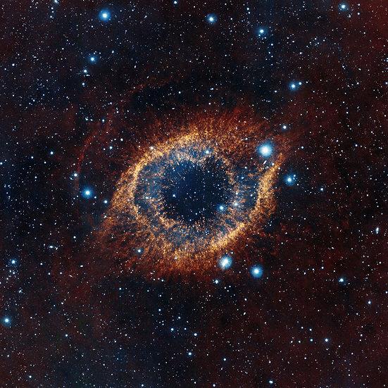Evrende Göz Duvar Kaplamaları | 3 Boyutlu Atmosfer Boşluğu Duvar Kağıdı